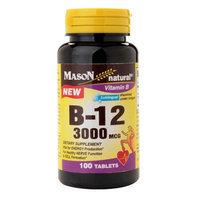 Mason Natural B-12 3000 mcg