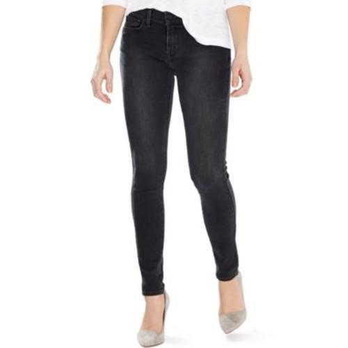 abercrombie & fitch Levi's® 710 Super Skinny Jeans, Dark Steel Wash