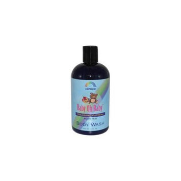 Rainbow Research 0187872 Baby Oh Baby Organic Herbal Wash Colloidal Oatmeal Scented - 12 fl oz