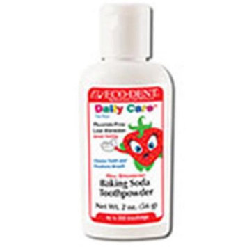 Daily Care Toothpower Strawberry for Kids Eco-Dent 2 oz Powder
