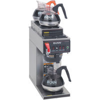 Bunn BUNN 12950. 0283 12 Cup Coffee Brewer with Upper/Lower Warmers Thermo Fresh 20 Stainless Steel Funnel