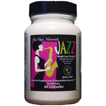 Ranisa Naturals Top of the World Naturals Jazz Weight Loss Formula, 60 Capsules