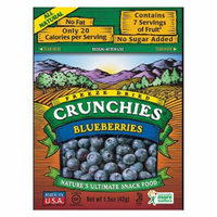 Crunchies Freeze Dried Snack Food Blueberry