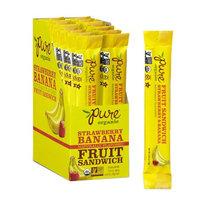 Pure Organic Pure Fruit Sandwiches Strawberry Banana