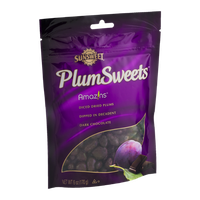 Sunsweet PlumSweets Amazins Diced Dried Plums Dipped in Decadent Dark Chocolate