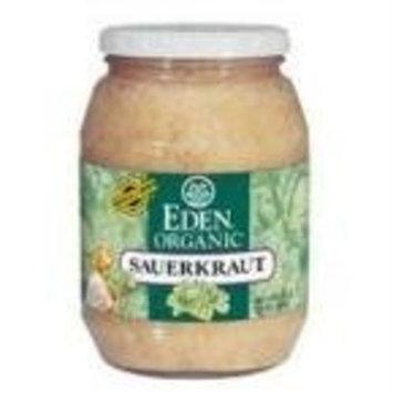 Eden Foods 100% Organic Sauerkraut, Glass Jar 32 oz. (Pack of 12)