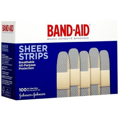 Johnson & Johnson Band-Aid Sheer Comfort-Flex 100 All One Side