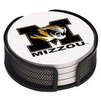 Thirstystone University of Missouri 4-pc. Coaster Set with Holder