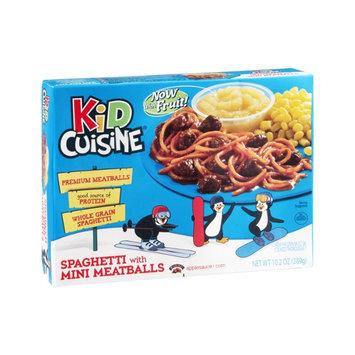 Kid Cuisine Spaghetti with Mini Meatballs