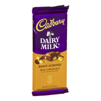 Cadbury Dairy Milk Roast Almond Milk Chocolate Bar