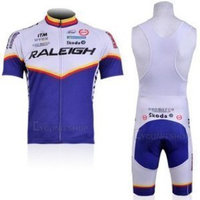 Mick cycling jersey 11RALEIGH Strap Cycling Jersey Set(available Size: S,M, L, XL, XXL,XXXL)