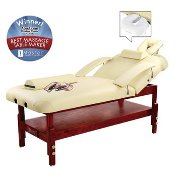 MHP SpaMaster Series - LX Stationary Massage Table Package, 31