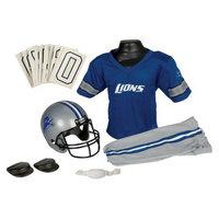 Franklin Sports NFL Lions Deluxe Uniform Set - Small