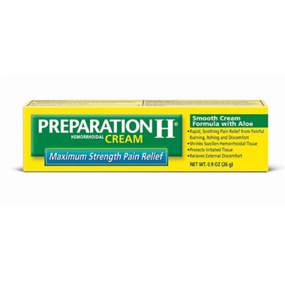 Preparation H Hemorrhoidal Cream