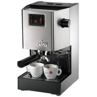 Gaggia Classic Brushed Stainless Steel Espresso Machine - 14101