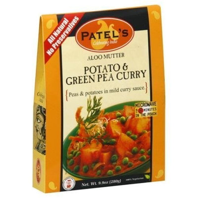 Swad Patel, Mix Sce Pto Grn Pea Curry, 9.9 OZ (Pack of 10)
