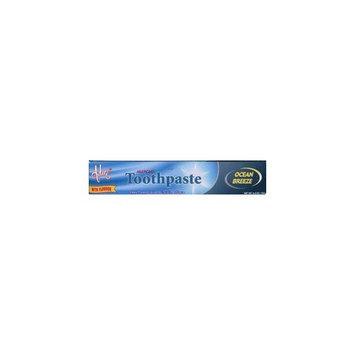 Adwe Laboratories Kosher Toothpaste Fluoride Ocean Breeze 6.4 OZ.