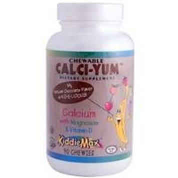 Maxi Health Maxi Chewable Cali-Yum, Chocolate 90 Tablets