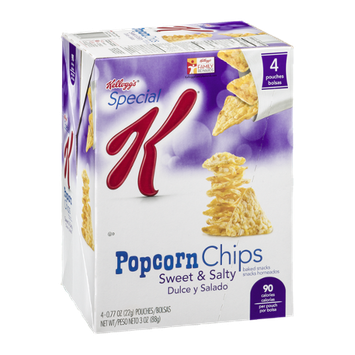 Special K® Kellogg Popcorn Chips Baked Snacks Sweet & Salty