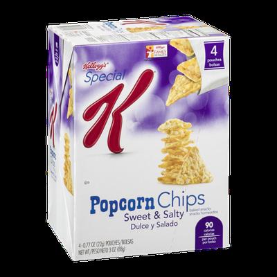 Special K® Kellogg Popcorn Chips Baked Snacks Sweet & Salty