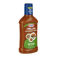 Kraft Anything Dressing Italian Roasted Red Pepper