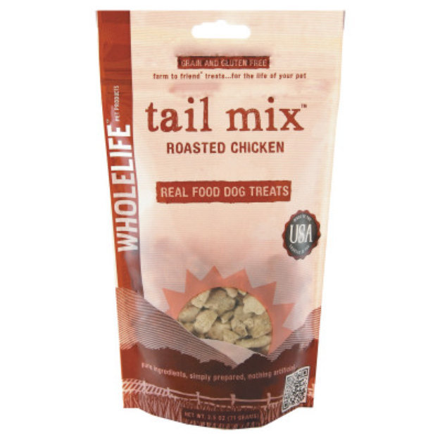 Whole Life Tail Mix Roasted Chicken Dog Treats - 2.5oz