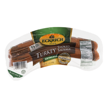 Eckrich Turkey Sausage Smoked Skinless