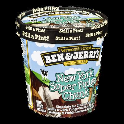 Ben & Jerry's New York Super Fudge Chunk Ice Cream 16 oz