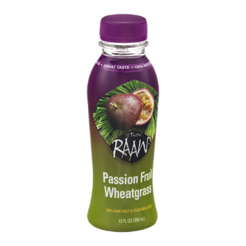 It Tastes RAAW Passion Fruit Wheatgrass