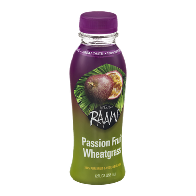 It Tastes RAAW Passion Fruit Wheatgrass