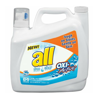 ALL WHITES All Free Clear Oxi-Active Liquid Laundry Detergent