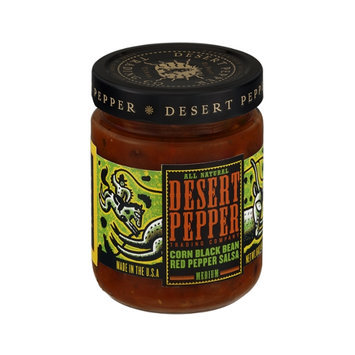 Desert Pepper Medium Corn Black Bean Red Pepper Salsa