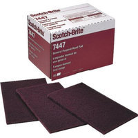 3M 7447 Scotch-Brite Hand Pads-SCOTCHBRITE MRN HAND PAD