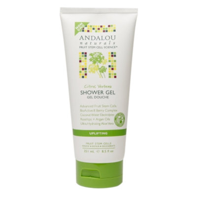 Andalou Naturals Shower Gel, Citrus Verbena, 8.5 fl oz