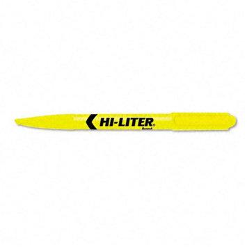 Kmart.com HI-LITER Pen Style Highlighter, Chisel Tip, Yellow Ink