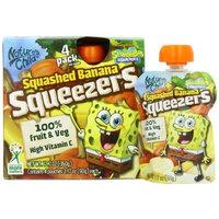 Nature's Child Squeezers, SpongeBob Squarepants Squashed Banana, 4-Count (Pack of 12)