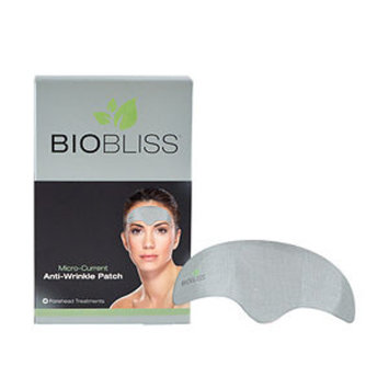 BIOBLISS Wrinkle Recovery Kit 4 Micro-Current Anti-Wrinkle Forehead Patch Treatments, 4 ea