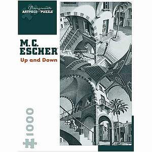 MC Escher Up and Down Puzzle 1000 pcs  Ages 12 and up