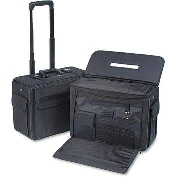 Stebco 261710BLK Rolling Catalog/Computer Case Nylon 18 x 8 x 13 Black