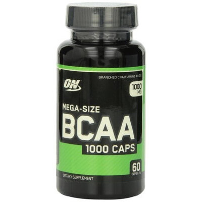 Optimum Nutrition BCAA 1000mg, 60 Capsules