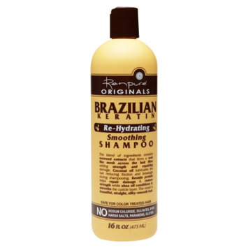 Renpure Originals Brazilian Keratin Re-Hydrating Shampoo, 16 fl oz