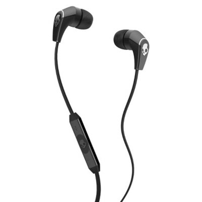 Skullcandy 50/50 In-Line Microphone and Control Switch/Volume - Black