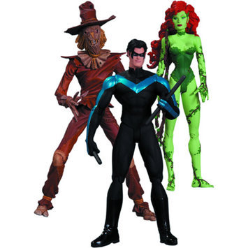 Diamond DC Collectibles Hush Scarecrow, Nightwing and Poison Ivy Action Figure