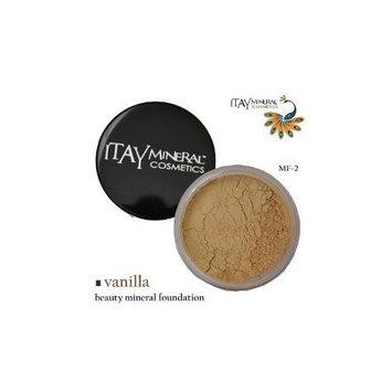 Itay Beauty Mineral Cosmetics Itay Beauty 100% Natural Mineral Foundation Color :Mf-2 Vanilla 9 Gram