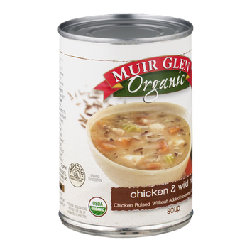 Muir Glen Organic Soup Chicken & Wild Rice