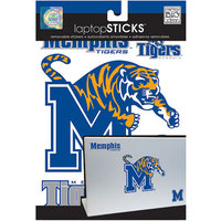 NCAA Removable Laptop Sticker, Memphis Tigers