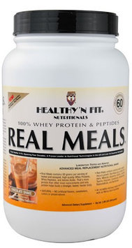 Healthy'N Fit Nutritionals Real Meals Chocolate Shake 2.09 lbs