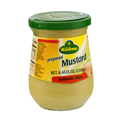Kuhne Prepared Authentic Dijon Mustard