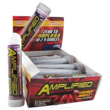 MetRX Amplified Energy Shooter 2.9oz - Grape 12-Count