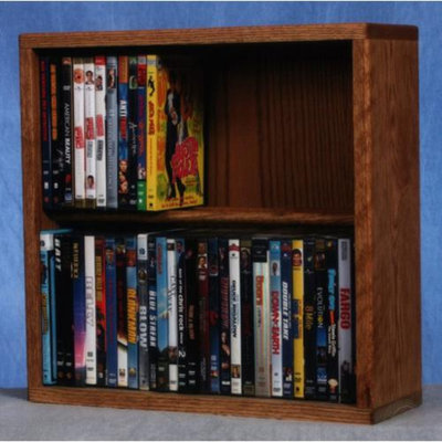 Wood Shed 18.25 in. Dowel DVD Storage (Unfinished)